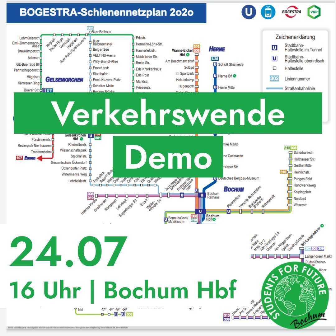 VerkehrsWende Demo Bochum 24.07.20